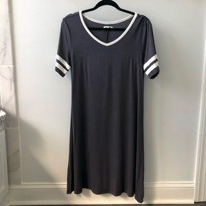 Maurices gray T-shirt dress